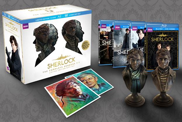 Sherlock Holmes Limited Edition Gift Set Releasing Soon