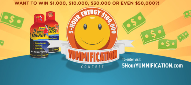 5 Hour Energy Yummification Contest Results