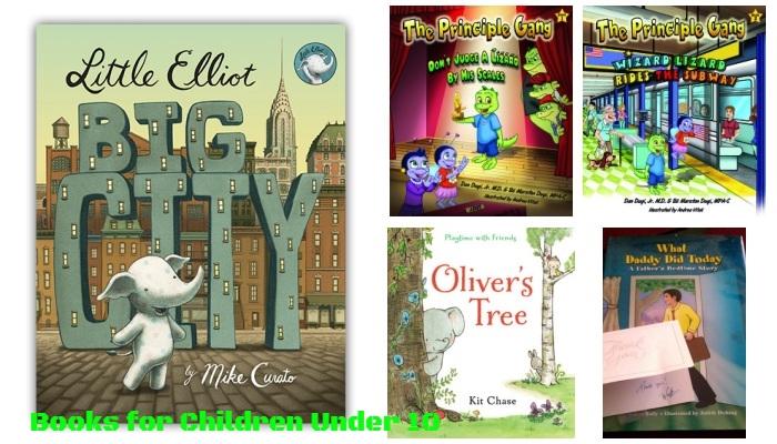 Great Books for Children Under 10-collage