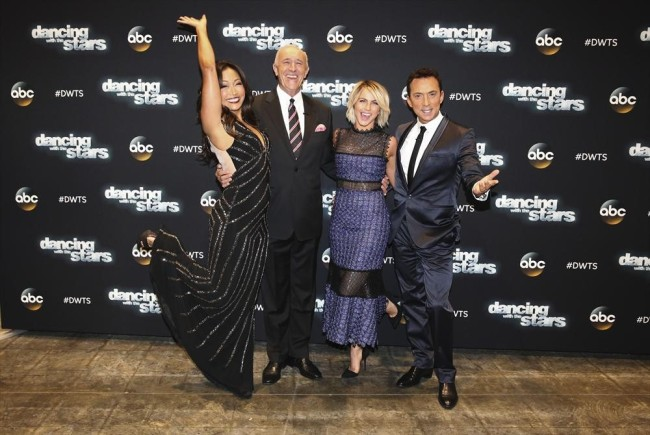 (ABC/Adam Taylor) CARRIE ANN INABA, LEN GOODMAN, JULIANNE HOUGH, BRUNO TONIOLI