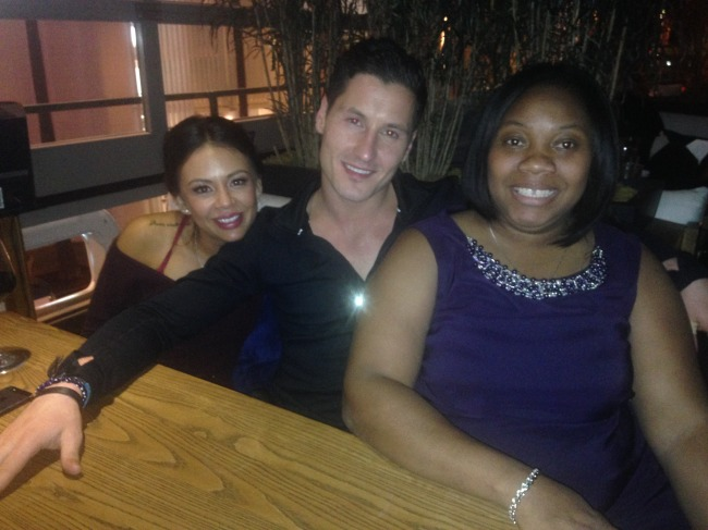 Val, Janel and myself
