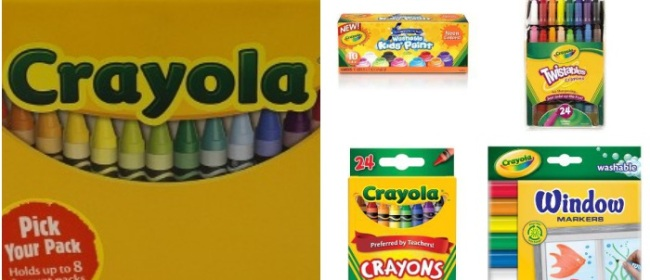 Shop Crayola for Your Stocking Stuffers This Year