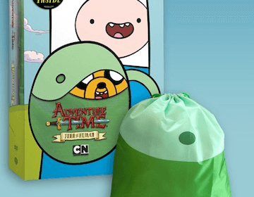 Adventure Time: Finn The Human DVD Review