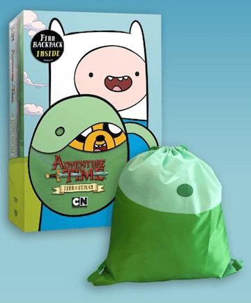 Adventure Time: Finn The Human DVD Review