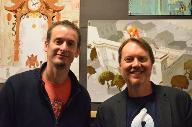 Big Hero 6 Directors - Don Hall & Chris Williams