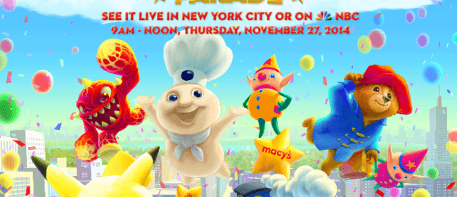 Look for Eruptor In The Macy's Thanksgiving Parade