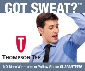 Beat the Sweat with Thompson Tee