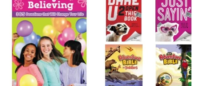 ZonderKidz Bibles & Devotionals for Kids and Tweens