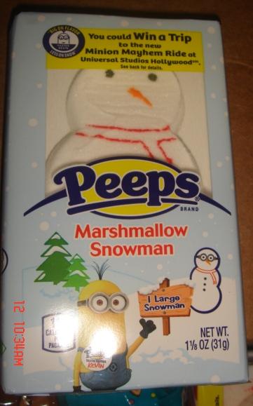 PEEPS Large Marshmallow Snowmen