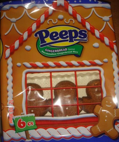 PEEPS Gingerbread Flavored Marshmallow Gingerbread Men