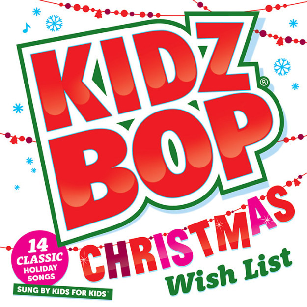 Kidz Bop Christmas Wish List CD Review