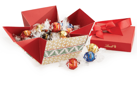 Give Lindt Chocolate This Holiday Season