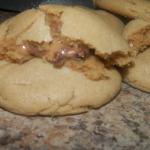 Rolo Stuffed Peanut Butter Cookies