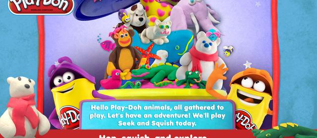 Play-Doh Seek & Squish PlayDate Digital App Review