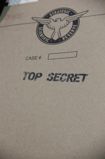 SSR Top Secret folder