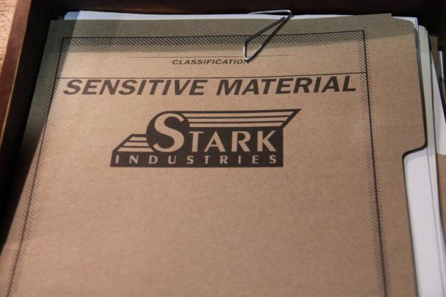 Stark Industries sensitive material