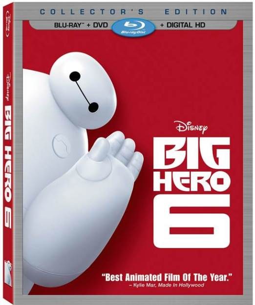 Big Hero 6 Arrives on Blu Ray & DVD