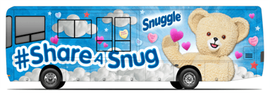 #Shareasnug with Snuggle for Valentine's Day