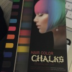 Temporary Hair Color Chalk Review