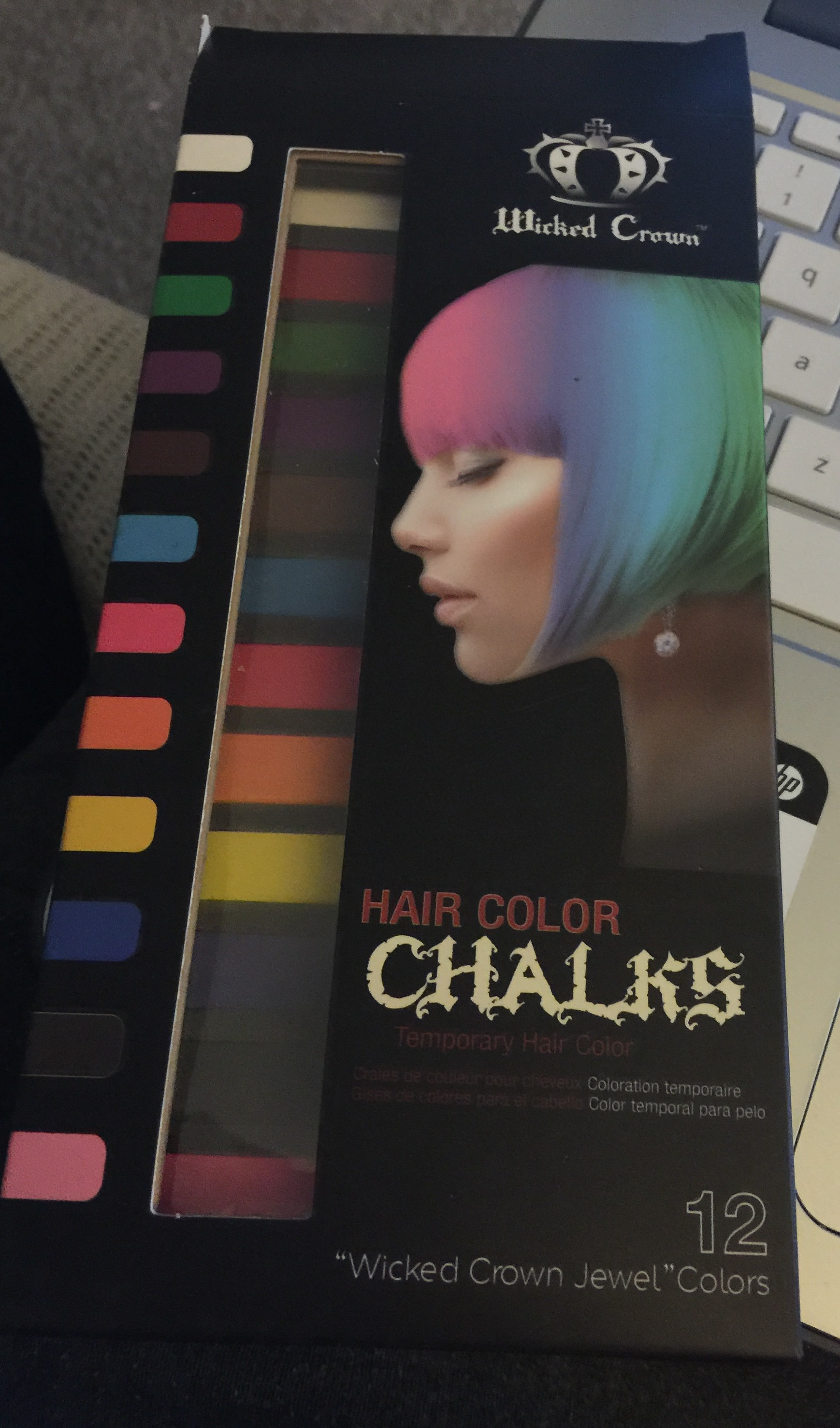 Wicked Crown Temporary Hair Chalk