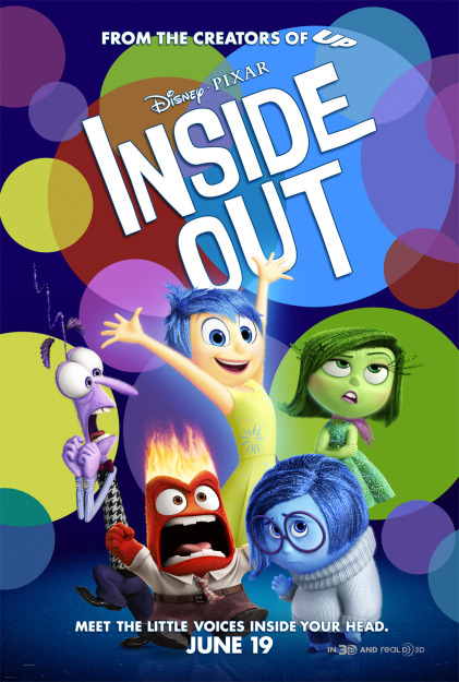 New Poster for Inside Out