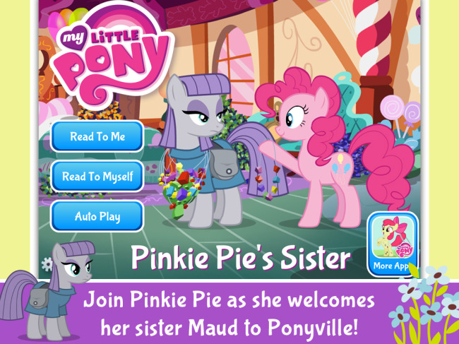 New My Little Pony App from PlayDate Digital