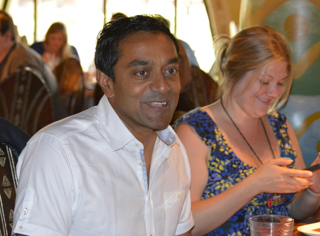 Dr. M Sanjayan - Disneynature Ambassador and Vice President of International Conservation.  Photo Credit - Cori S.