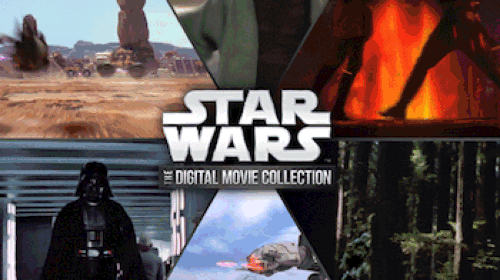 Star Wars Saga Arriving on Digital HD
