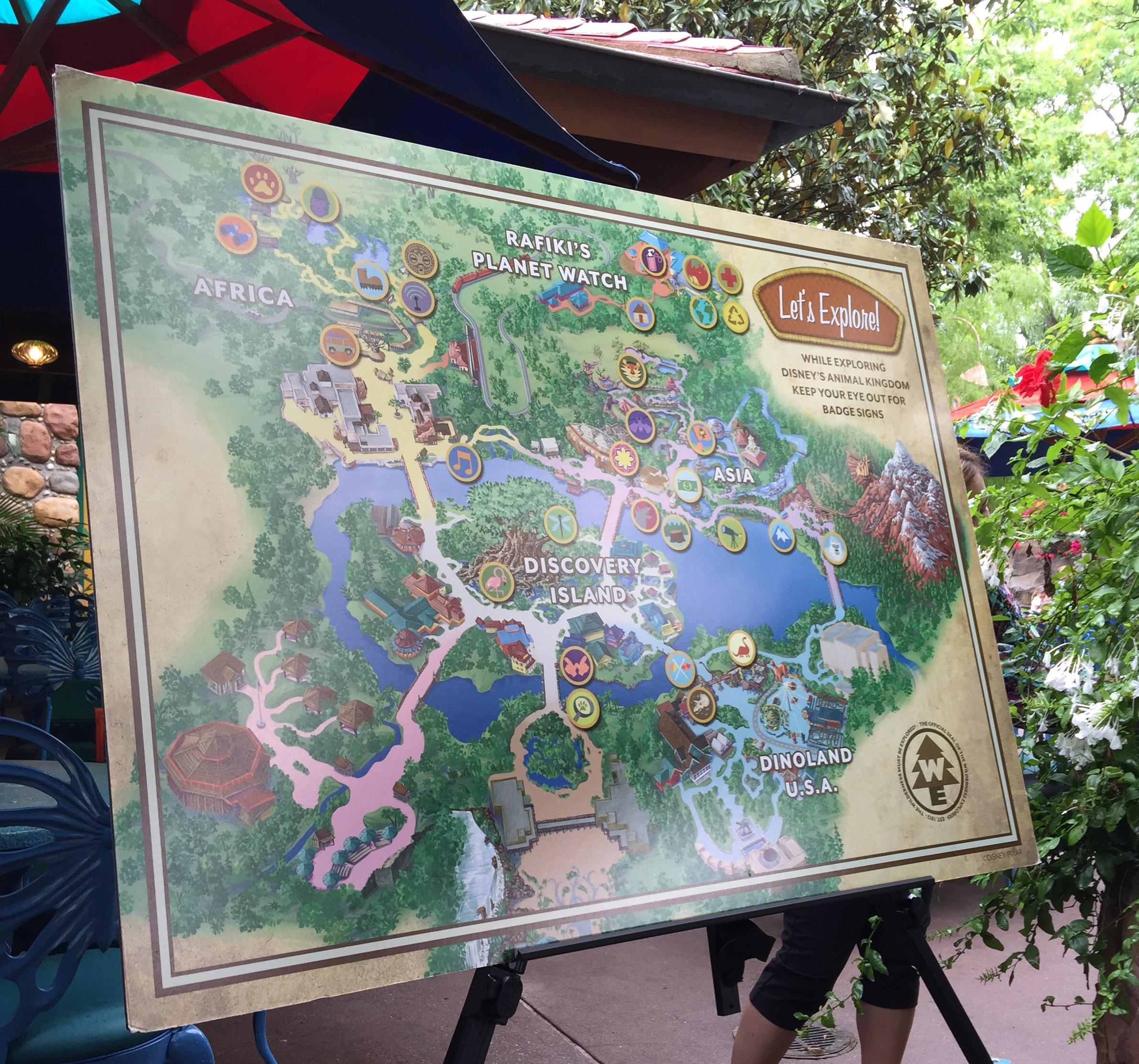 Disney's Animal Kingdom's Wilderness Explorers Program #MonkeyKingdomEvent