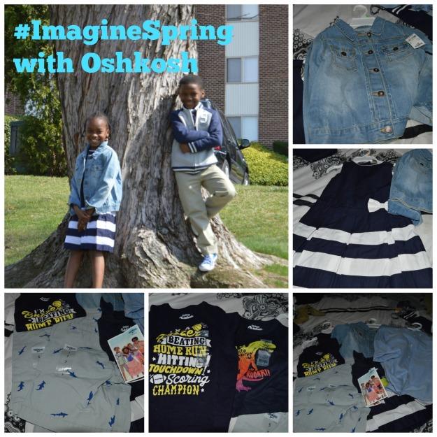 #ImagineSpring with OshKosh Clothing #AD #IC