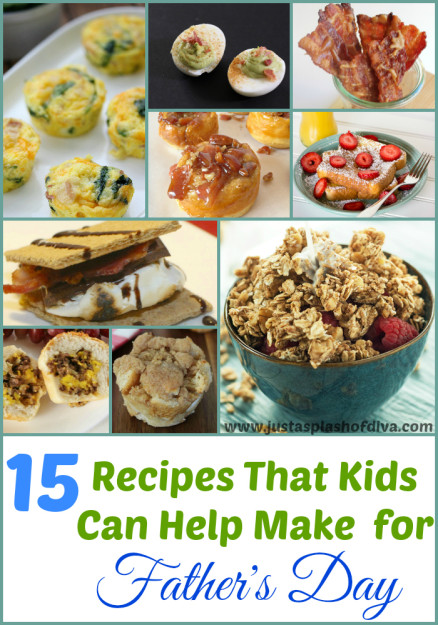 Father's Day Recipes Kids Can Help With