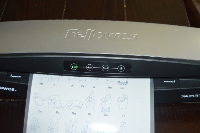 Fellowes Laminator (8)