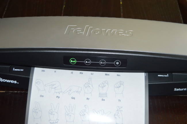 Fellowes Laminator (9)