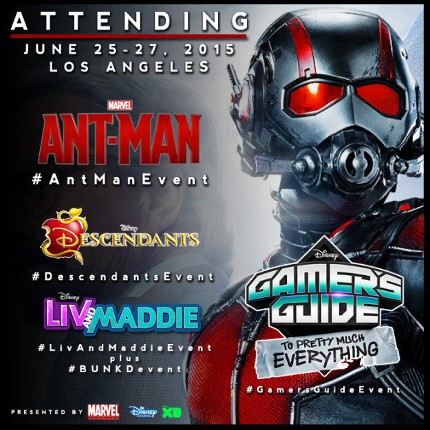 Blogger Bucket List: I'm Attending the #AntManEvent