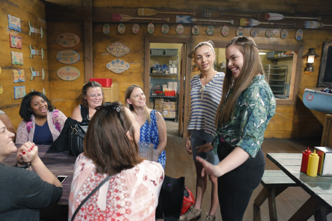 BUNK'D - Mommy Blogger event. - (Disney Channel/Tony Rivetti) PEYTON LIST, MIRANDA MAY