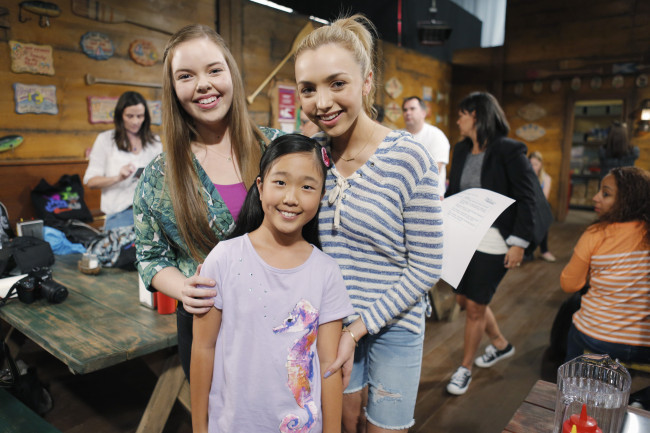 BUNK'D - Mommy Blogger event. - (Disney Channel/Tony Rivetti) MIRANDA MAY, NINA LU, PEYTON LIST