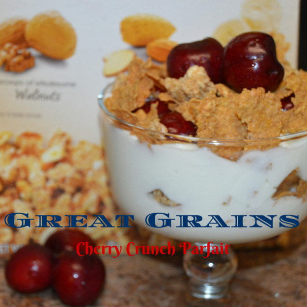 Great Grains Cherry Crunch Parfait #GreatGrains