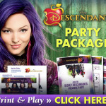 Free Downloadable Descendants Party Kit