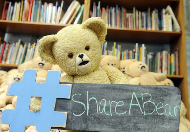 Join Snuggle #ShareABear Movement