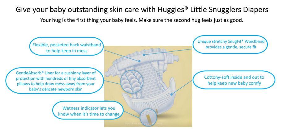 huggies snugglers