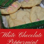 Soft Baked Peppermint Chocolate Sugar Cookies