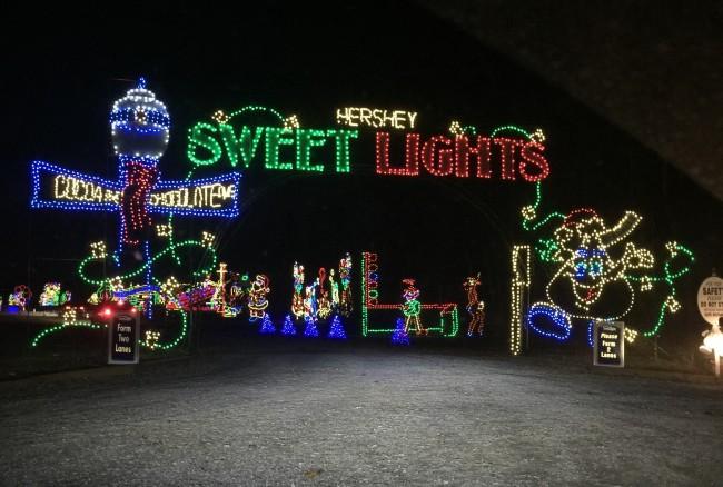 Enjoy Hershey At Christmas Time #HersheyparkHappy
