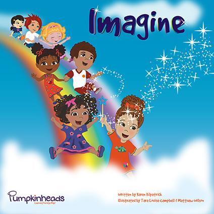 Imagine Pumpkinheads book