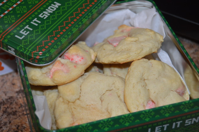 Peppermint Bark Sugar Cookies (2)