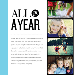 All in a Year 8x11 Photo Book