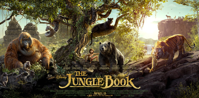 New Jungle Book Poster