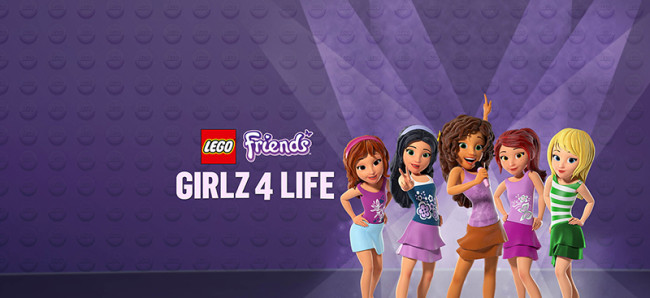 Lego Friends Girls Life DVD Giveaway