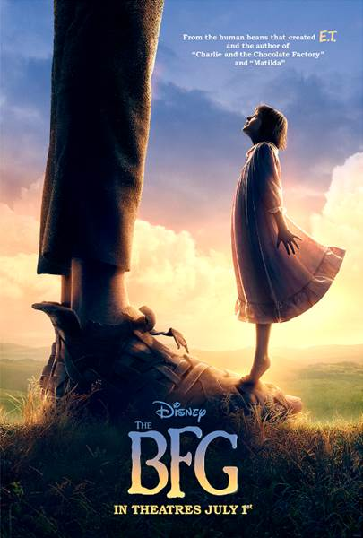 First Poster for The BFG Revealed by Disney