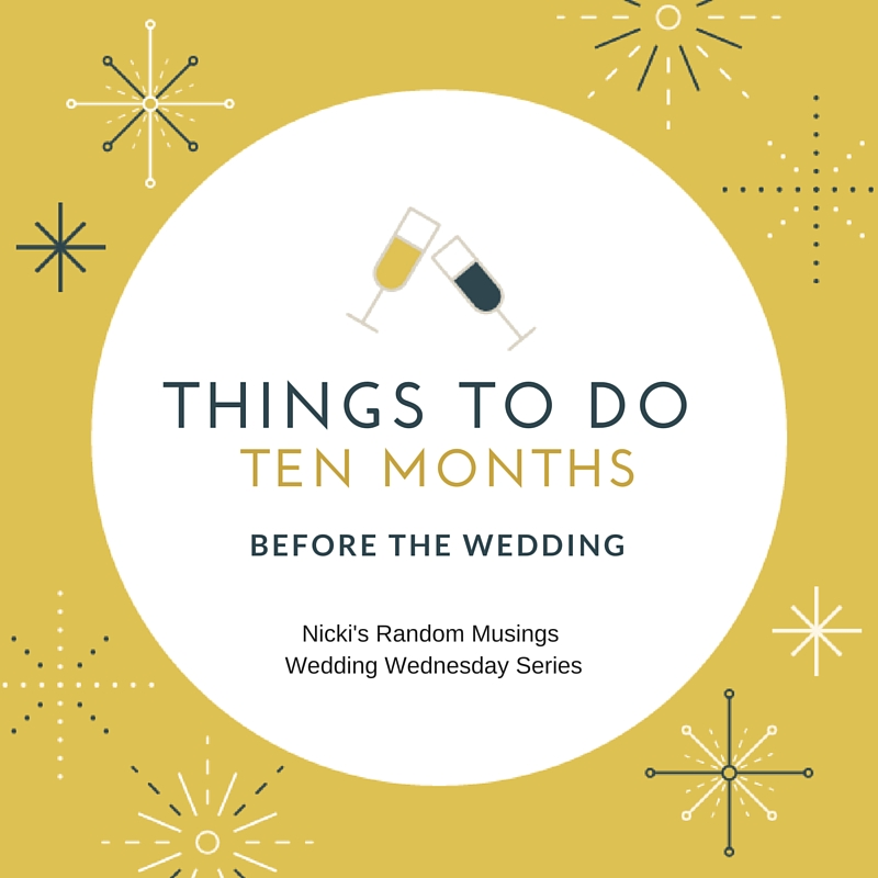 wedding things to do