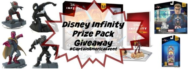 Disney Infinity Giveaway #CaptainAmericaEvent #TeamIronMan